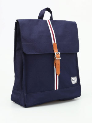 Herschel: backpacks online - City Mid blue backpack