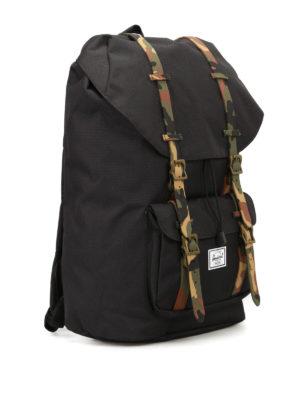 Herschel: backpacks online - Little America camu strap backpack