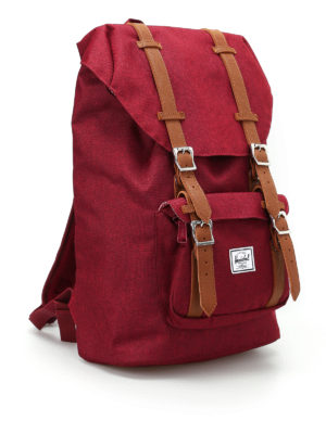 Herschel: backpacks online - Little America Mid wine backpack