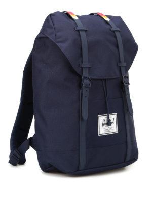 Herschel: backpacks online - Solid blue Retreat backpack