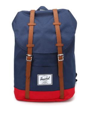 Herschel: backpacks - Retreat bicolor backback