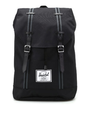 Herschel: backpacks - Retreat black backpack