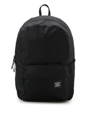 Herschel: backpacks - Rundle black waterproof backpack