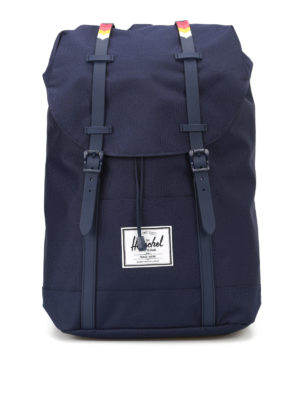 Herschel: backpacks - Solid blue Retreat backpack