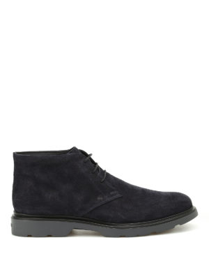 Hogan: ankle boots - H304 New Route suede ankle boots