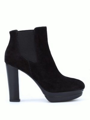Hogan: ankle boots - H313 suede ankle boots
