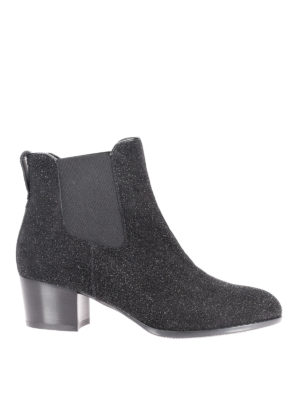 Hogan: ankle boots - H314 glitter ankle boots