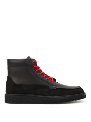 Hogan: ankle boots - H334 lace-up ankle boots