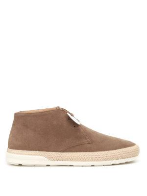 Hogan: ankle boots - H358 Derby suede desert boots