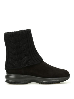 Hogan: ankle boots - Interactive ankle boots with lurex