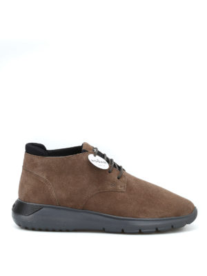 HOGAN: tronchetti - Sneaker polacchini marroni Interactive³