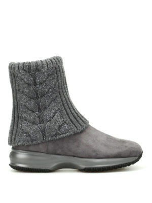 Hogan: ankle boots - Interactive lurex ankle boots