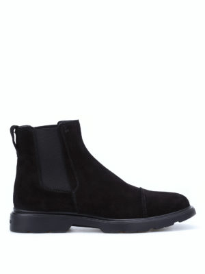 Hogan: ankle boots - New Route Chelsea ankle boots