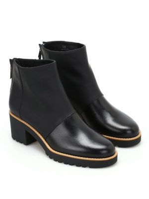 Hogan: ankle boots online - H277 leather ankle boots