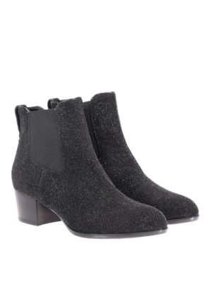 Hogan: ankle boots online - H314 glitter ankle boots