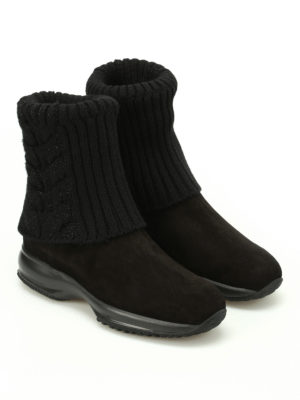 Hogan: ankle boots online - Interactive ankle boots with lurex