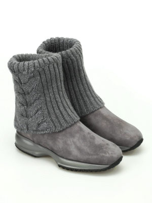 Hogan: ankle boots online - Interactive lurex ankle boots