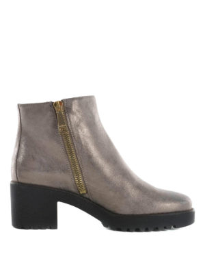 Hogan: ankle boots - Route H277 suede ankle boots
