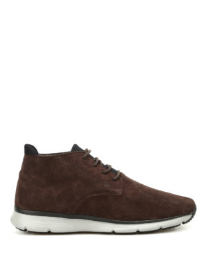 Hogan: ankle boots - T20.15 new urban style mid lace-ups