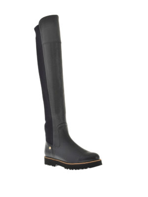 Hogan: boots online - H259 Route New leather high boots