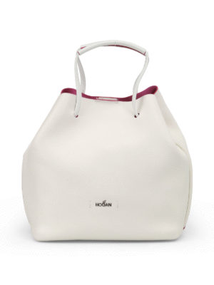 Hogan: Bucket bags - Contrasting piping bucket bag