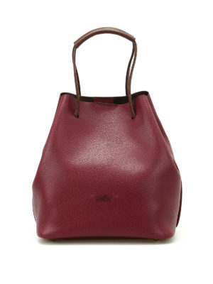 Hogan: Bucket bags - Iconic bag with contrasting handles