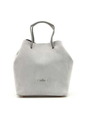 Hogan: Bucket bags - Iconic bucket bag in suede