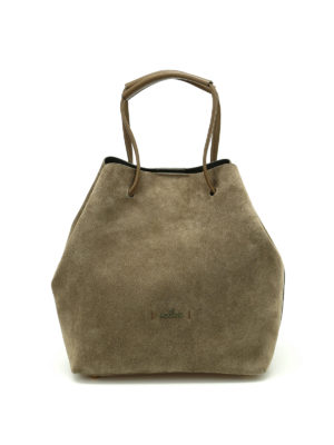 Hogan: Bucket bags - Iconic suede bag