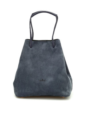 Hogan: Bucket bags - Iconic suede bucket bag