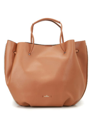 Hogan: Bucket bags - Metallic interior bucket bag