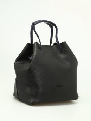 Hogan: Bucket bags online - Contrasting handles Iconic bag