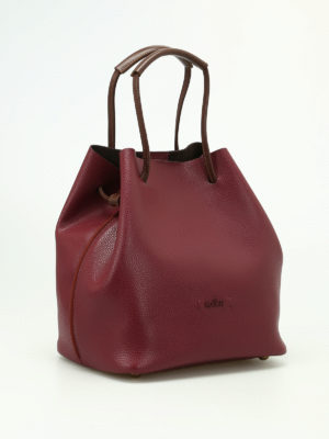 Hogan: Bucket bags online - Iconic bag with contrasting handles