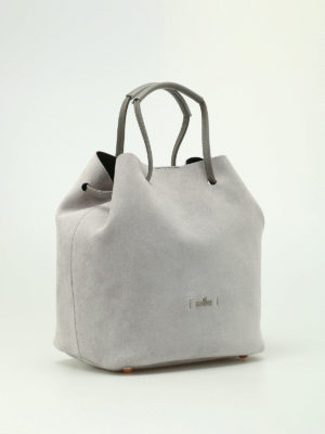 Hogan: Bucket bags online - Iconic bucket bag in suede