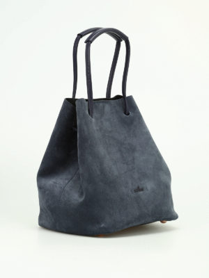 Hogan: Bucket bags online - Iconic suede bucket bag