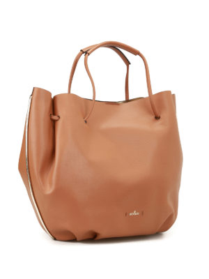 Hogan: Bucket bags online - Metallic interior bucket bag