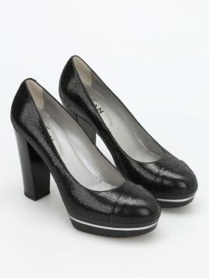 Hogan: court shoes online - H313 leather pumps