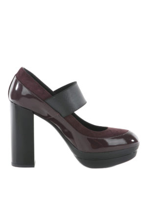 Hogan: court shoes - Opty leather pumps