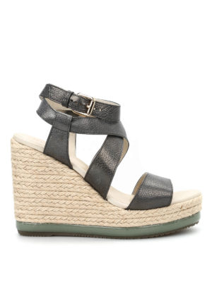 Hogan: espadrilles - H286 Zeppa Yuta sandals