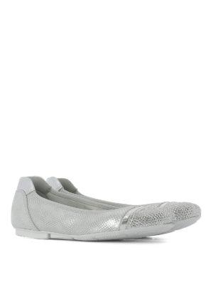 Hogan: flat shoes online - Wrap H144 embellished ballerinas