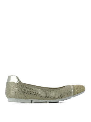 Hogan: flat shoes - Wrap H144 embellished ballerinas
