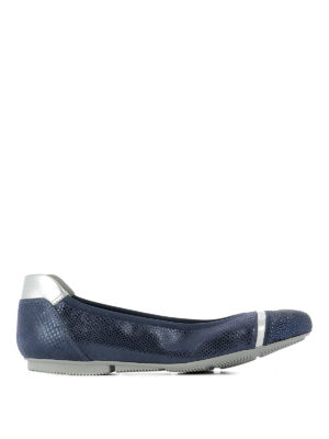 Hogan: flat shoes - Wrap H144 embellished ballerinas