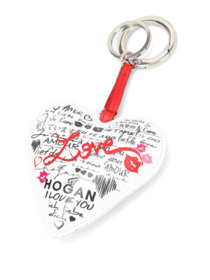 Hogan: key holders - Love key-holder