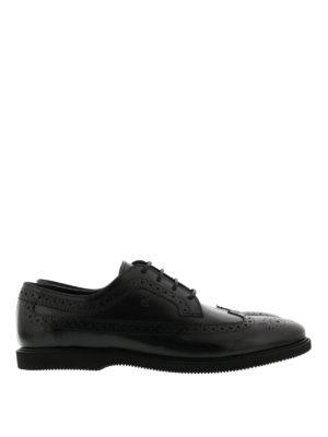 Hogan: lace-ups shoes - Club leather Derby shoes