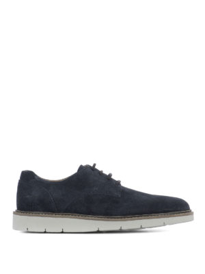 Hogan: lace-ups shoes - Dress X - H322 suede Derby shoes
