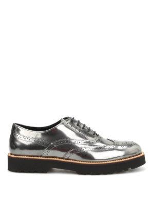 Hogan: lace-ups shoes - H259 patent leather derby shoes