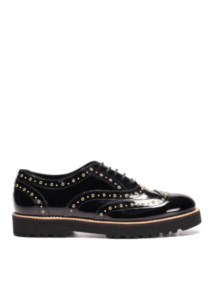 Hogan: lace-ups shoes - H259 Route studded Oxford shoes
