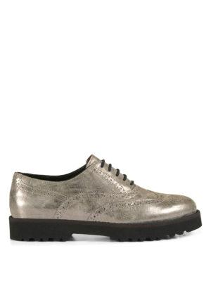 Hogan: lace-ups shoes - H259 suede Oxford shoes