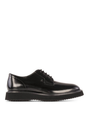 Hogan: lace-ups shoes - H271 Route leather derby shoes