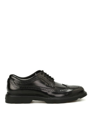 Hogan: lace-ups shoes - H304 New Route Derby shoes
