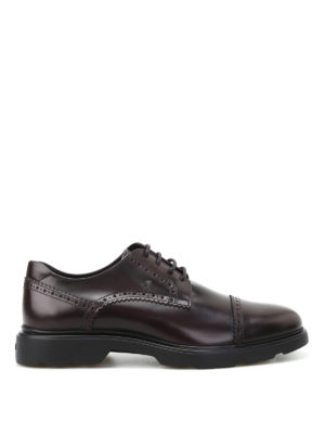 Hogan: lace-ups shoes - H304 New Route leather brogues